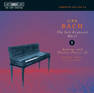 C.P.E. Bach Complete Solo Keyboard Works – Volume 8 | BIS BISCD1087