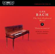 C.P.E. Bach Complete Solo Keyboard Works – Volume 9 | BIS BISCD1088