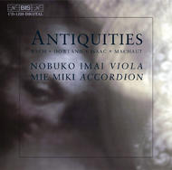 Antiquities – Music for Viola and Accordion | BIS BISCD1229
