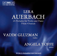 Auerbach - 24 Preludes for Violin and Piano | BIS BISCD1242