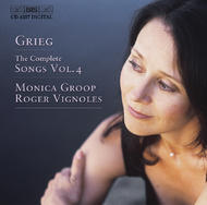 Grieg – The Complete Songs Volume 4 | BIS BISCD1257