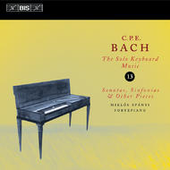 C.P.E. Bach Solo Keyboard Music – Volume 13 | BIS BISCD1328