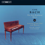 C.P.E. Bach Solo Keyboard Music – Volume 14 | BIS BISCD1329