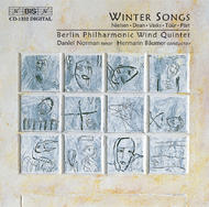 Winter Songs for Wind Quintet | BIS BISCD1332