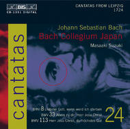 J. S Bach – Cantatas Volume 24 (BWV 8, 33 and 113) | BIS BISCD1351