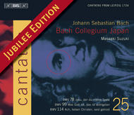 J. S Bach – Cantatas Volume 25 (BWV 78, 99 and 114) | BIS BISCD1361