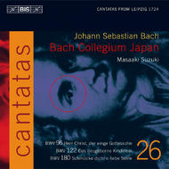 J. S Bach – Cantatas Volume 26 (BWV 180, 122 and 96) | BIS BISCD1401