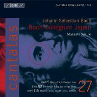 J. S Bach – Cantatas Volume 27 (BWV 5,80 and 115) | BIS BISCD1421