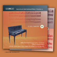 C.P.E. Bach Complete Keyboard Concertos and Solo Works Volume 15 | BIS BISCD1422