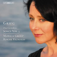 Grieg – The Complete Songs Volume 5 | BIS BISCD1457