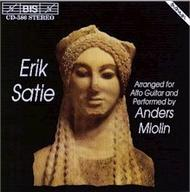 Satie – Music arranged for Alto Guitar | BIS BISCD586