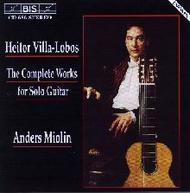 Villa-Lobos - Complete Works for Solo Guitar | BIS BISCD686