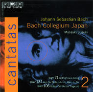 J. S. Bach – Cantatas, Volume 2 (BWV 71, 131, 106) | BIS BISCD781