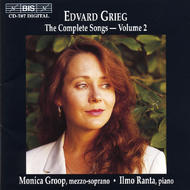 Grieg – The Complete Songs – Volume 2 | BIS BISCD787