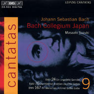 J. S. Bach – Cantatas, Volume 9 (BWV 24, 76, 167) | BIS BISCD931