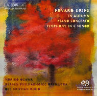Grieg - Piano Concerto, In Autumn, Symphony | BIS BISSACD1191