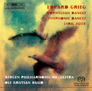 Grieg – Orchestral Dances | BIS BISSACD1291