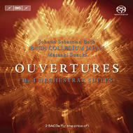 J. S. Bach – Ouvertures (The 4 Orchestral Suites) | BIS BISSACD1431