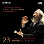 J. S. Bach – Cantatas, Volume 28 (BWV 26, 62, 116 and 129) | BIS BISSACD1451