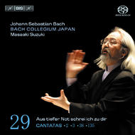 J. S. Bach – Cantatas, Volume 29 (BWV 2, 3, 38 and 135) | BIS BISSACD1461