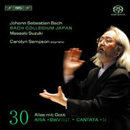 J. S. Bach – Cantatas, Volume 30 (BWV 51 and 1127) | BIS BISSACD1471