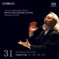 J. S. Bach – Cantatas, Volume 31 (BWV 91, 101, 121 and 133) | BIS BISSACD1481