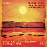 Grieg - Music for Strings | BIS BISSACD1491