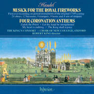 Handel - Fireworks Music and Coronation Anthems | Hyperion CDA66350