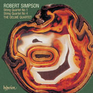 Robert Simpson - String Quartets 1 & 4 | Hyperion CDA66419