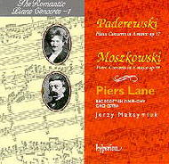 The Romantic Piano Concerto vol.1 - Moszkowski and Paderewski | Hyperion - Romantic Piano Concertos CDA66452