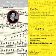The Romantic Piano Concerto vol.10 - Weber | Hyperion - Romantic Piano Concertos CDA66729