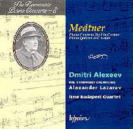 The Romantic Piano Concerto vol.8 - Medtner | Hyperion - Romantic Piano Concertos CDA66744