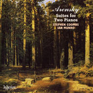 Arensky - The Complete Suites for two pianos | Hyperion CDA66755