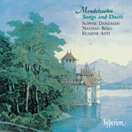 Mendelssohn - Songs and Duets - 1 | Hyperion CDA66906