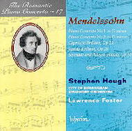 The Romantic Piano Concerto, Vol 17 - Mendelssohn | Hyperion - Romantic Piano Concertos CDA66969