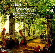 Liszt Piano Music, Vol 35 - Arabesques | Hyperion CDA66984