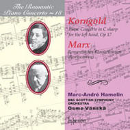 The Romantic Piano Concerto, Vol 18 - Korngold and Marx | Hyperion - Romantic Piano Concertos CDA66990