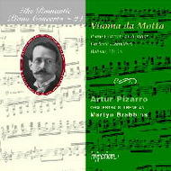 The Romantic Piano Concerto, Vol 24 - Vianna da Motta | Hyperion - Romantic Piano Concertos CDA67163