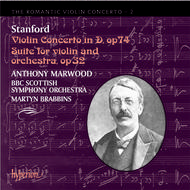 The Romantic Violin Concerto, Vol 2 - Stanford | Hyperion - Romantic Violin Concertos CDA67208