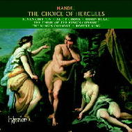 Handel - The Choice of Hercules | Hyperion CDA67298