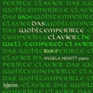 Bach - The 'Well-tempered Clavier' - II | Hyperion CDA673034