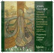 Tavener - The Second Coming and other choral works | Hyperion CDA67475