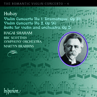 The Romantic Violin Concerto, Vol 6 - Hubay | Hyperion - Romantic Violin Concertos CDA67498