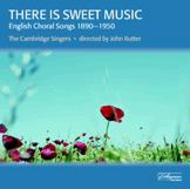There Is Sweet Music - 20 English part-songs and folk-song arrangements | Collegium CSCD505