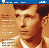 Remembering Tippett - Recordings from the 1940s | NMC Recordings NMCD103