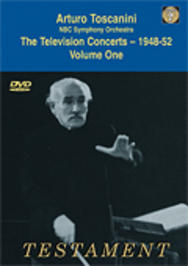 Toscanini - The Television Concerts vol.1 | Testament SBDVD1003