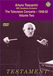 Toscanini - The Television Concerts vol.2 | Testament SBDVD1004
