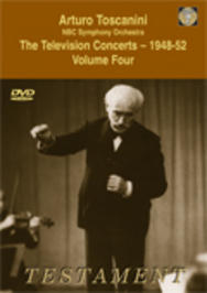 Toscanini - The Television Concerts vol.4 | Testament SBDVD1006