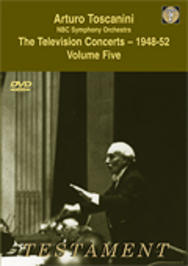 Toscanini - The Television Concerts vol.5 | Testament SBDVD1007