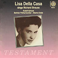Lisa della Casa sings Richard Strauss | Testament SBT1036